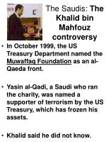 the saudis the khalid bin mahfouz controversy16