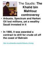 the saudis the khalid bin mahfouz controversy18