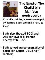 the saudis the khalid bin mahfouz controversy19