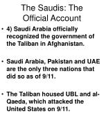 the saudis the official account6