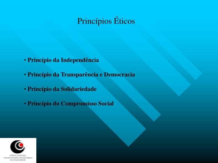 Princípios Éticos