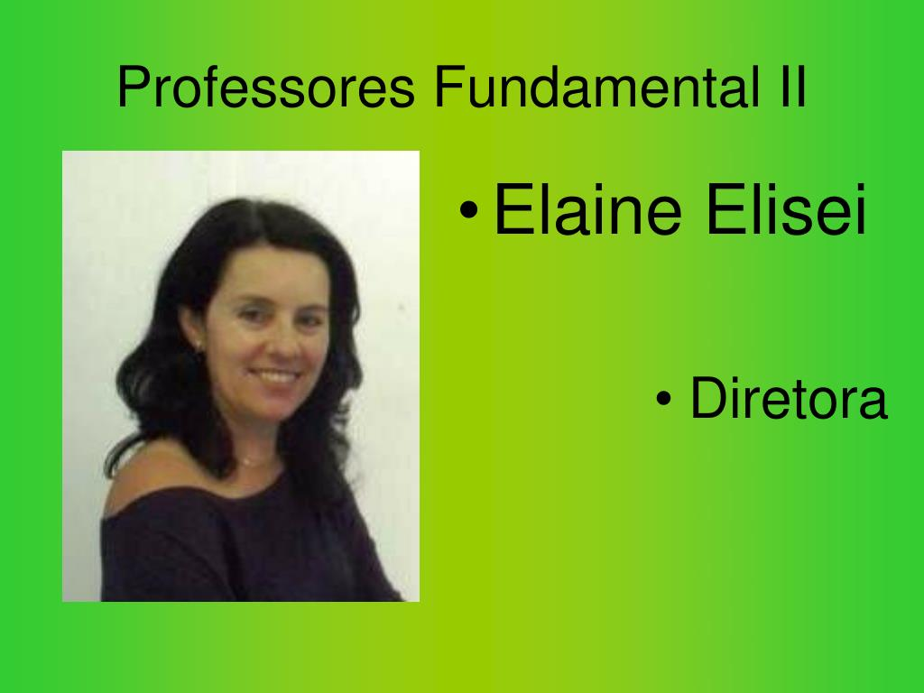 Professores Fundamental II