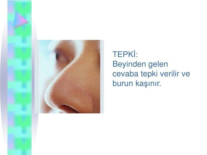 TEPKİ: