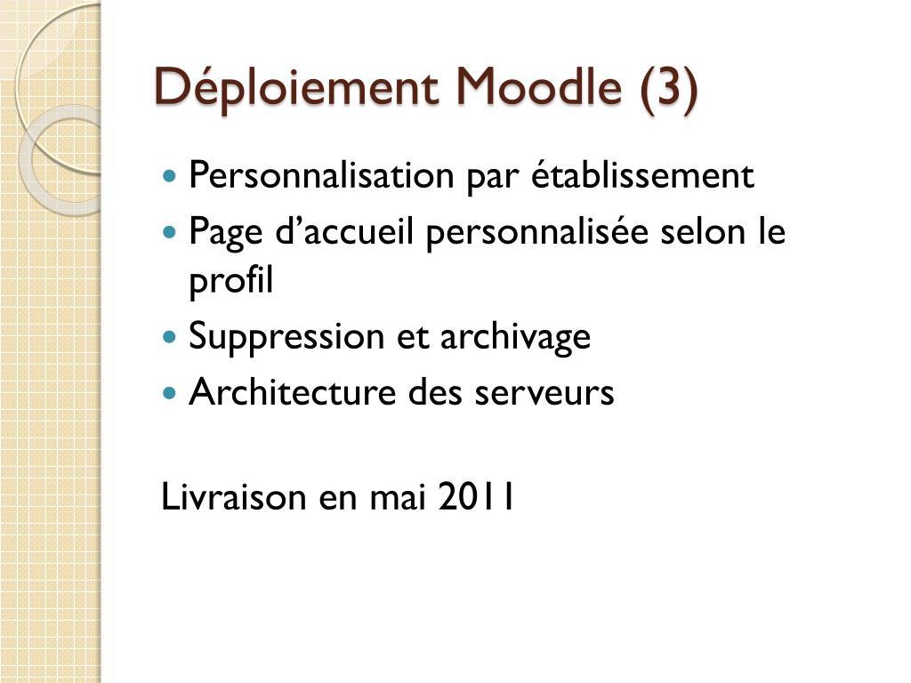 Déploiement Moodle (3)