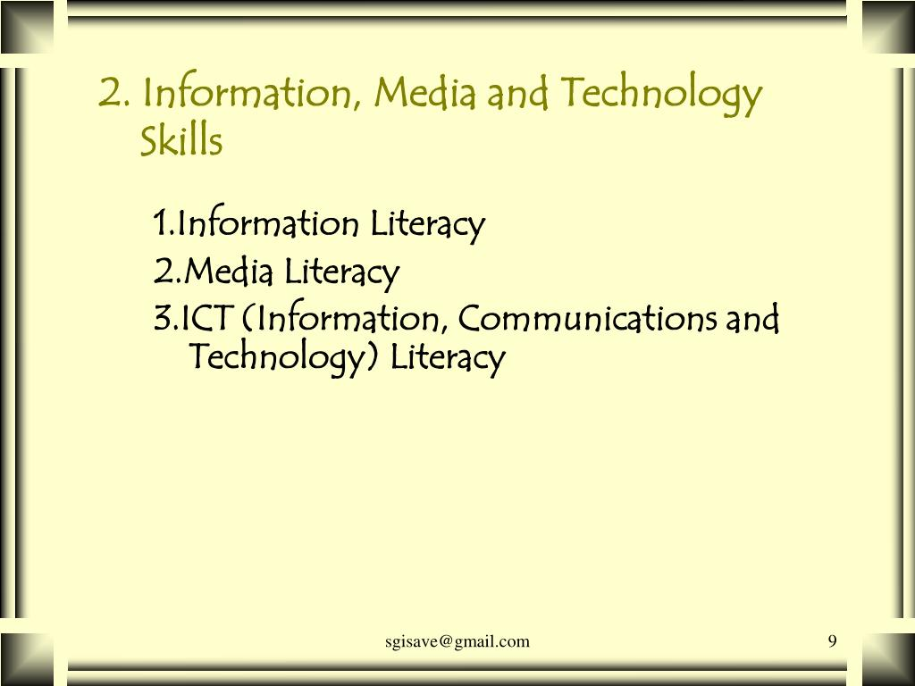 2. Information, Media and Technology