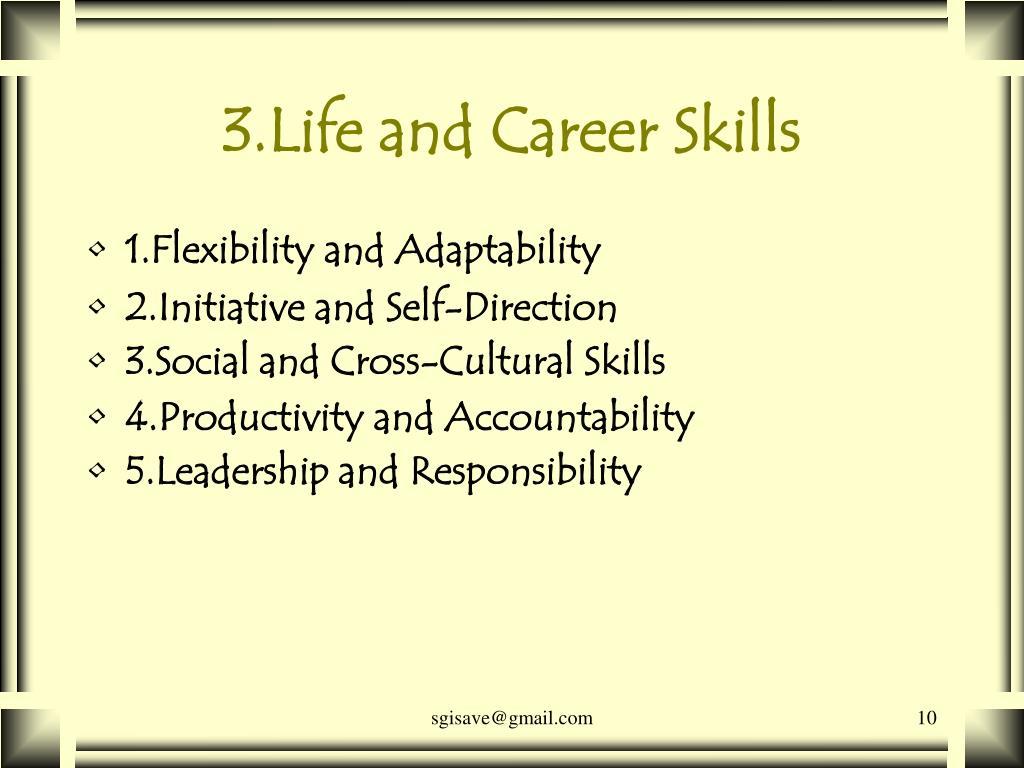 3.Life and Career Skills