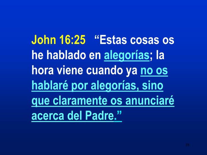 John 16:25
