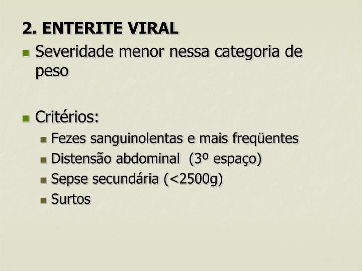 2. ENTERITE VIRAL