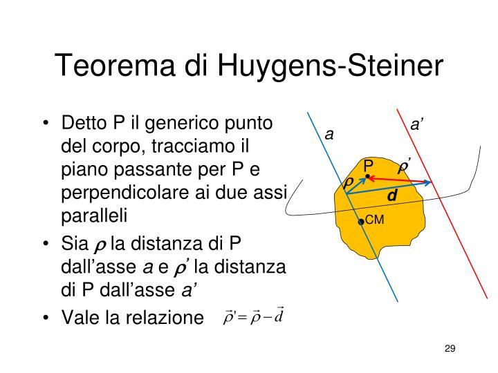 Teorema di Huygens-Steiner