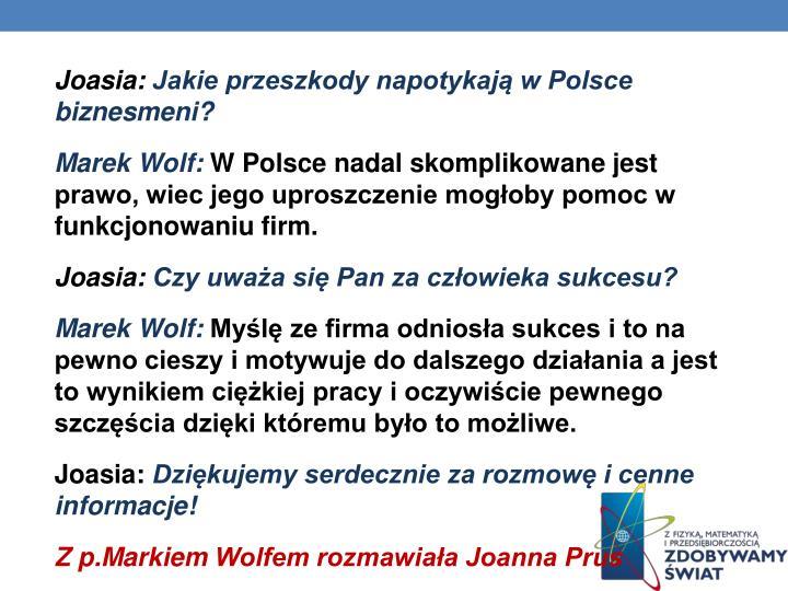 Joasia: