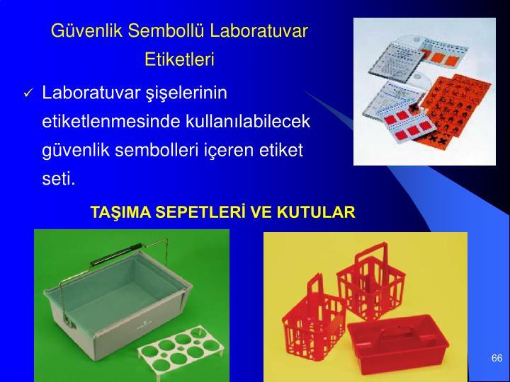 Gvenlik Semboll Laboratuvar Etiketleri
