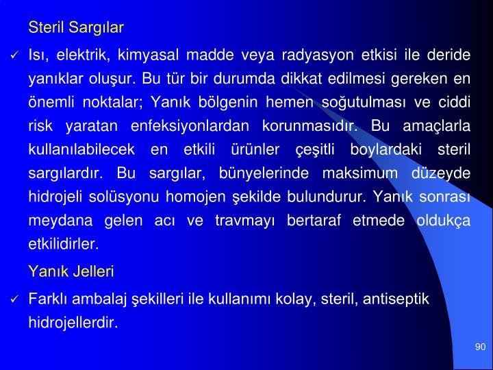 Steril Sarglar