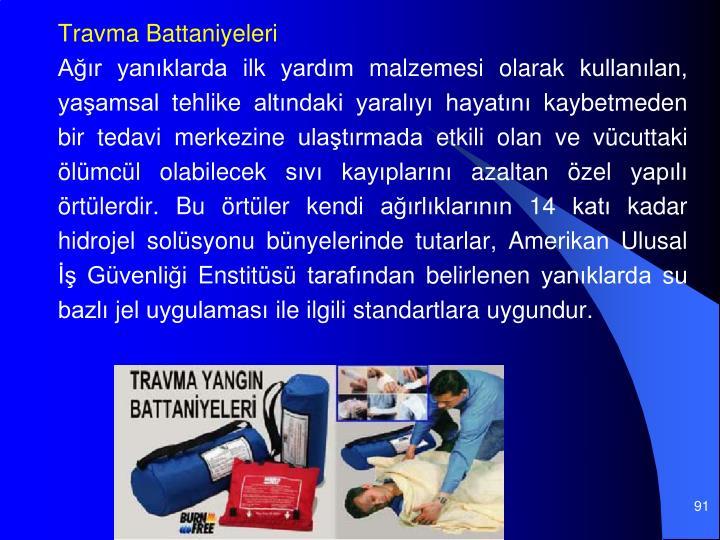 Travma Battaniyeleri