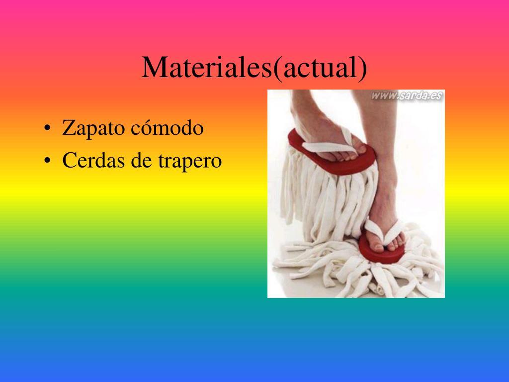 Materiales(actual)
