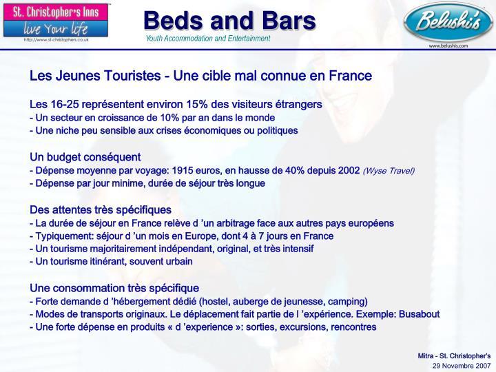 Les Jeunes Touristes - Une cible mal connue en France