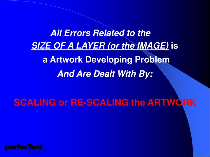 All Errors Related to the