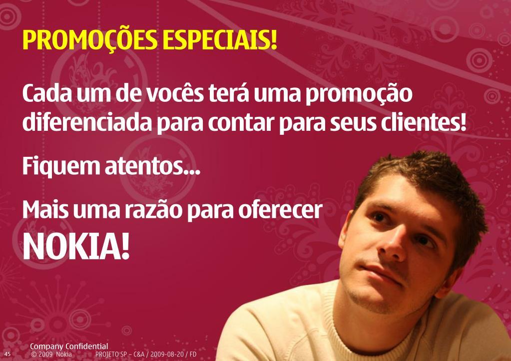 PROMOÇÕES ESPECIAIS!