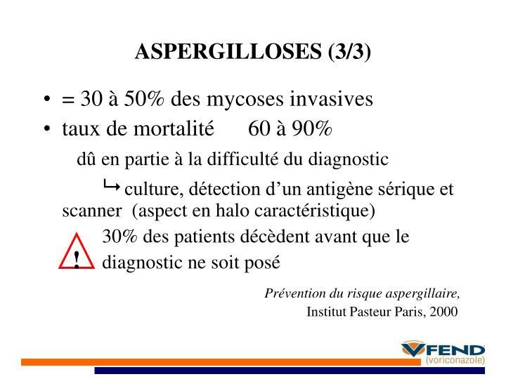ASPERGILLOSES (3/3)
