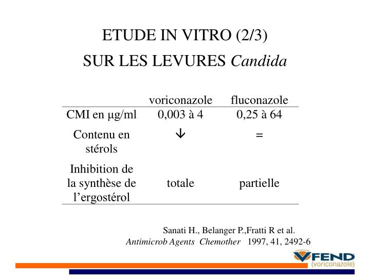 ETUDE IN VITRO (2/3)