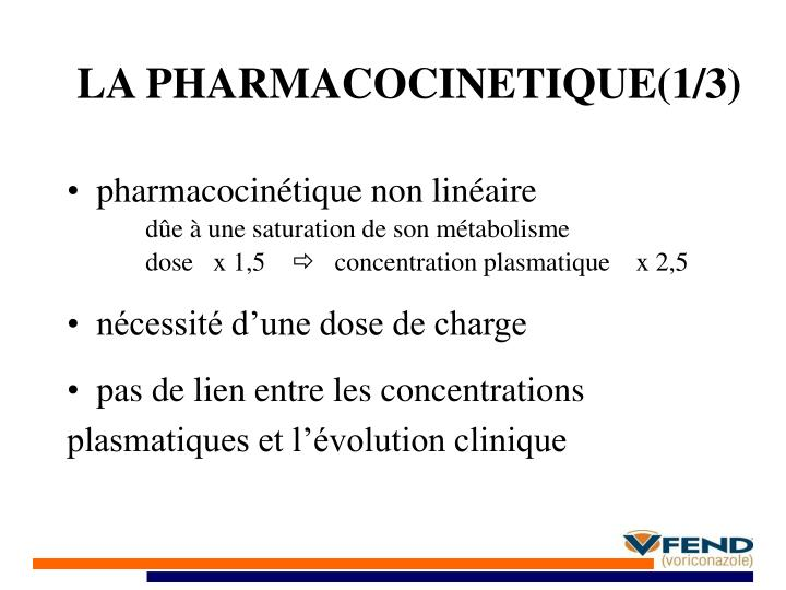 LA PHARMACOCINETIQUE(1/3)