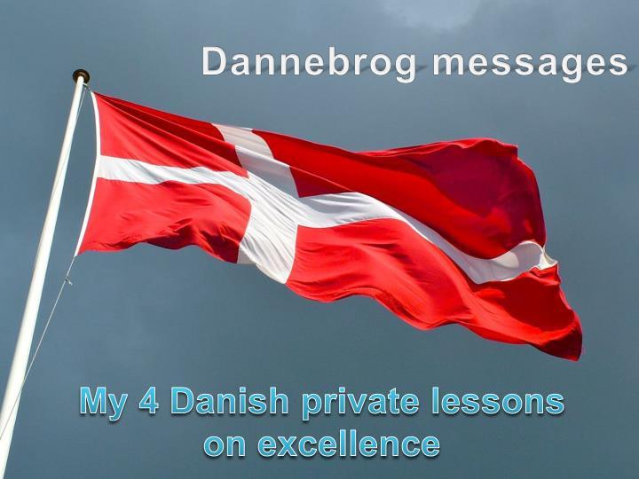 Dannebrog messages