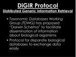 digir protocol distributed generic information retrieval