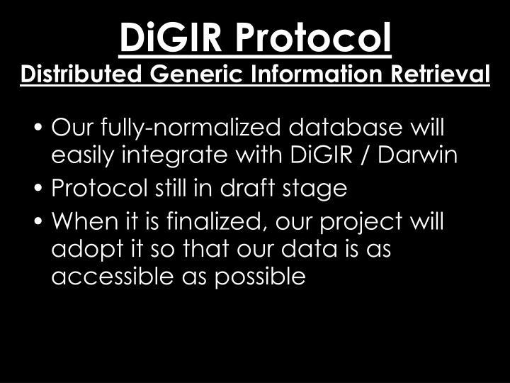 DiGIR Protocol