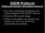 digir protocol distributed generic information retrieval1