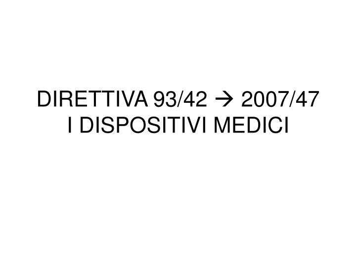 DIRETTIVA 93/42