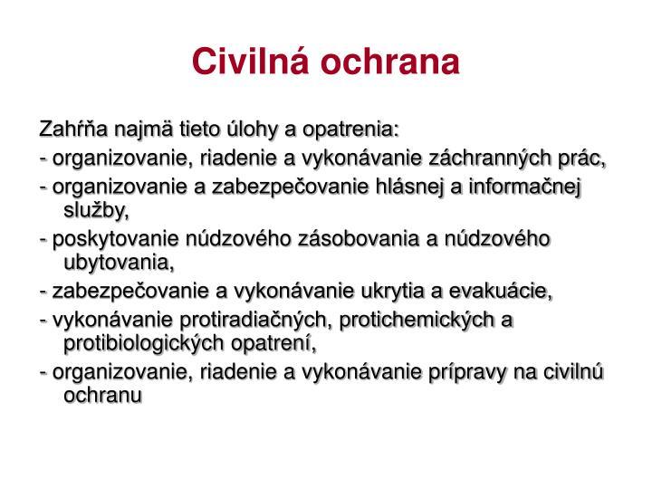 Civilná ochrana