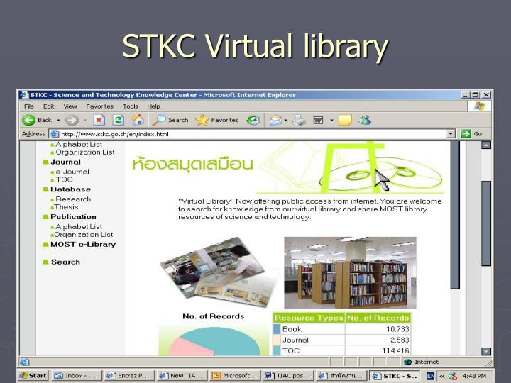 STKC Virtual library