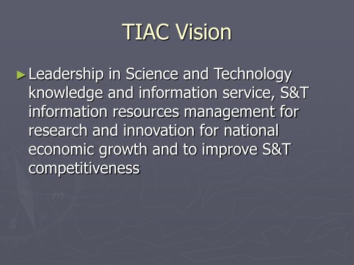 TIAC Vision