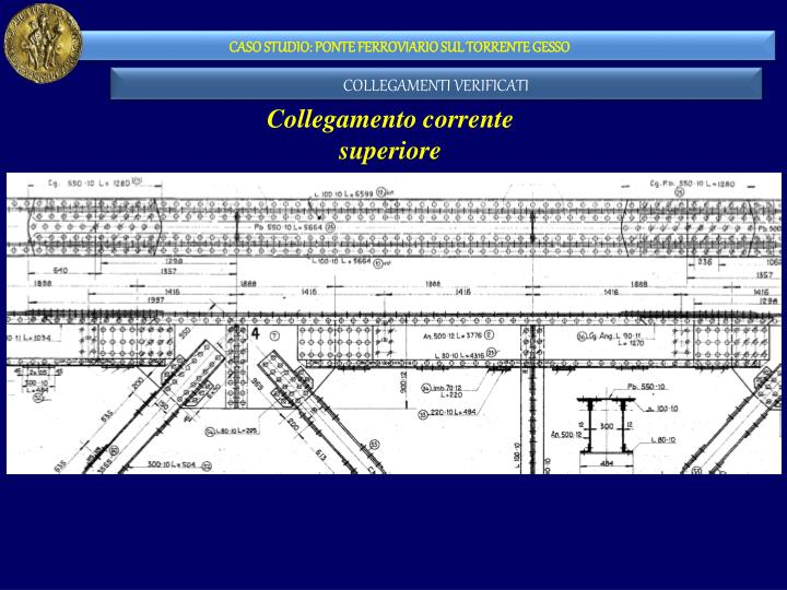 CASO STUDIO: PONTE FERROVIARIO SUL TORRENTE GESSO