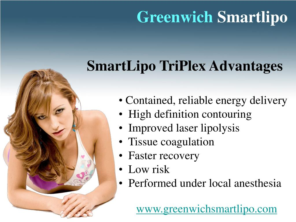 SmartLipo TriPlex Advantages