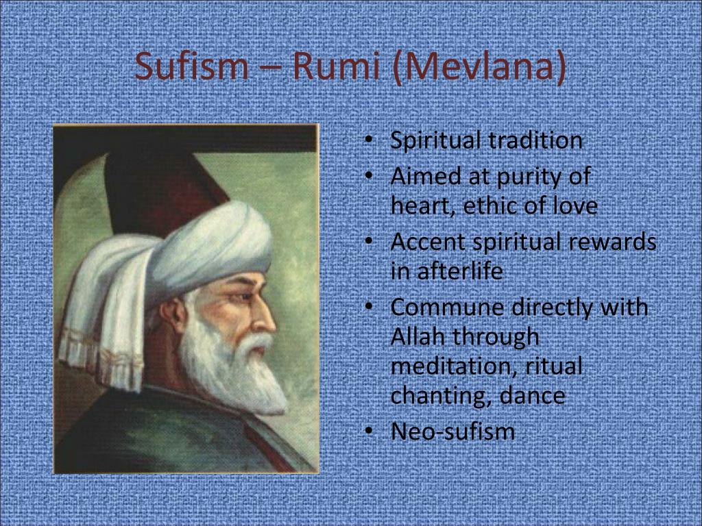Sufism – Rumi (