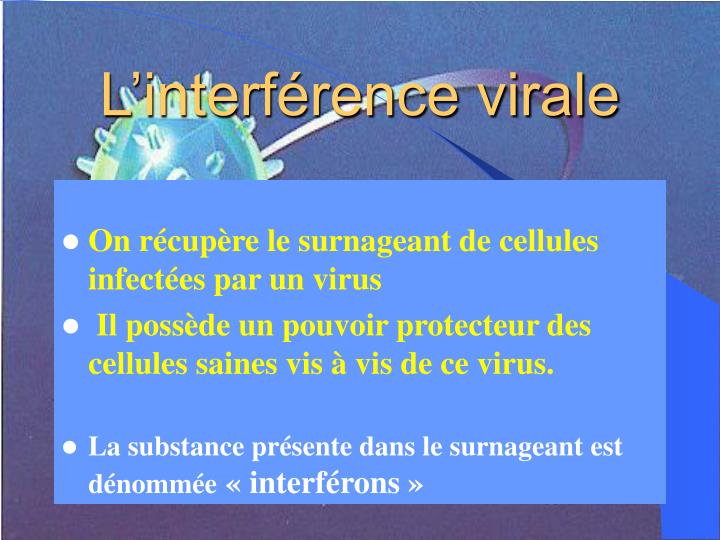 L'interférence virale