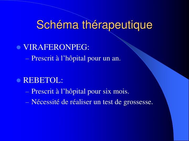 Schéma thérapeutique