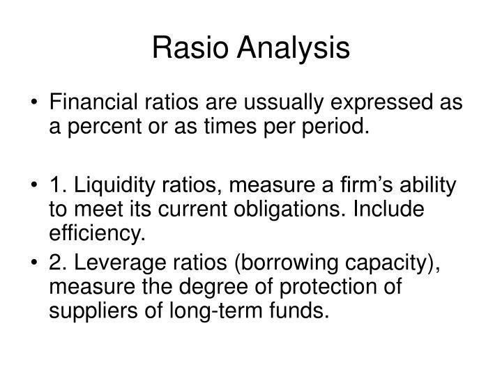 Rasio Analysis