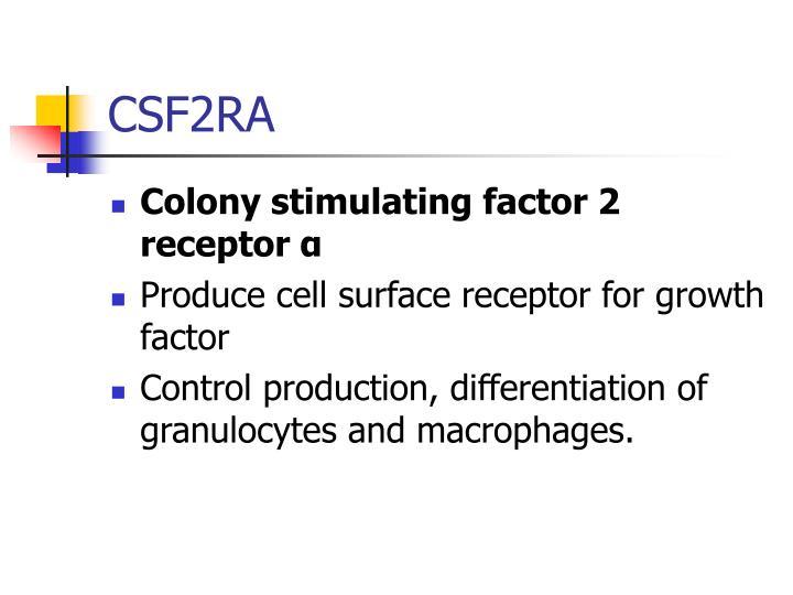 CSF2RA