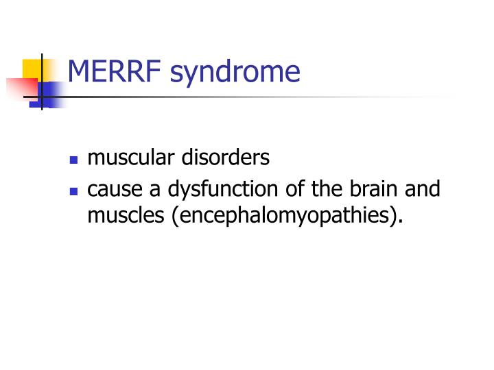 MERRF syndrome