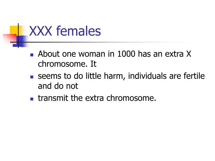 XXX females