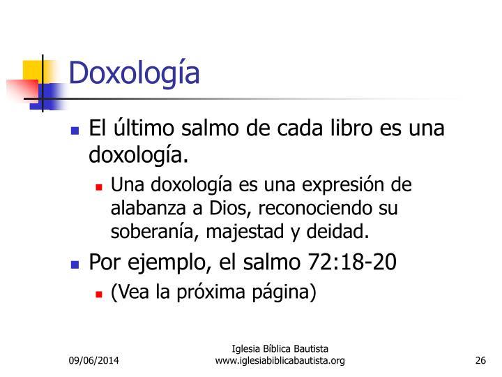 Doxología