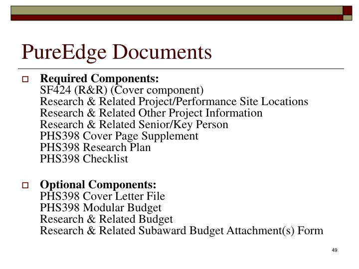 PureEdge Documents