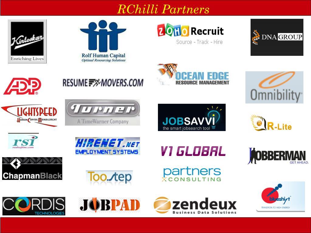 RChilli Partners