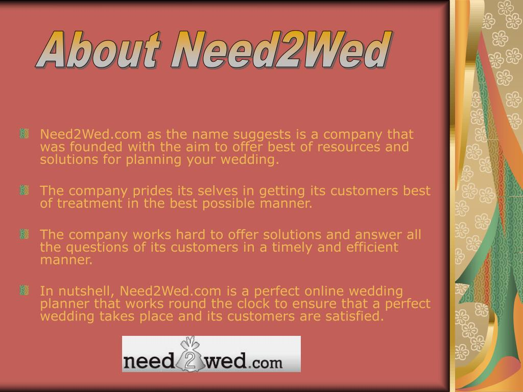 About Need2Wed
