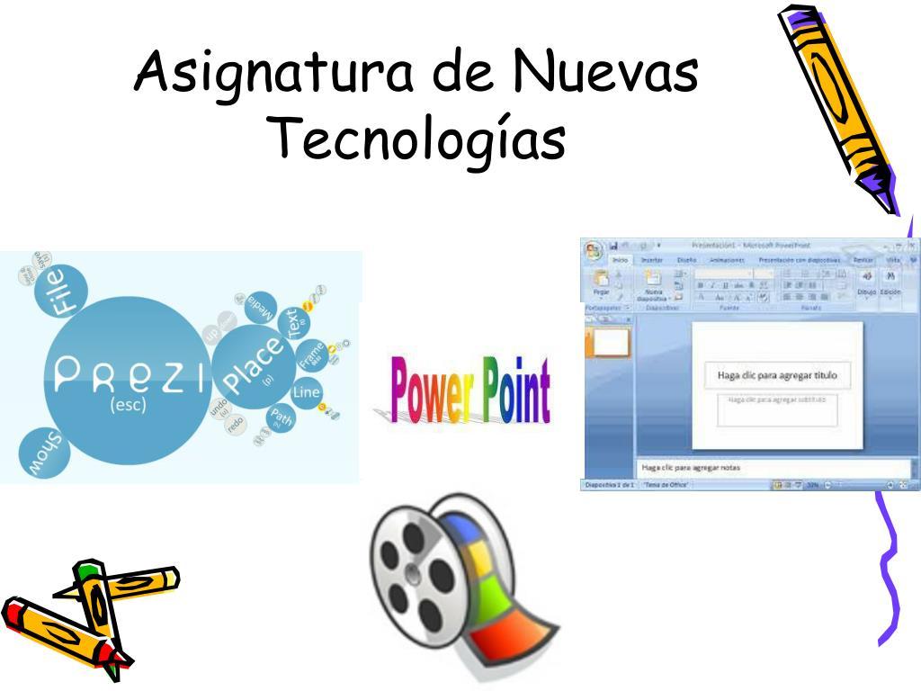 Asignatura de Nuevas Tecnologías
