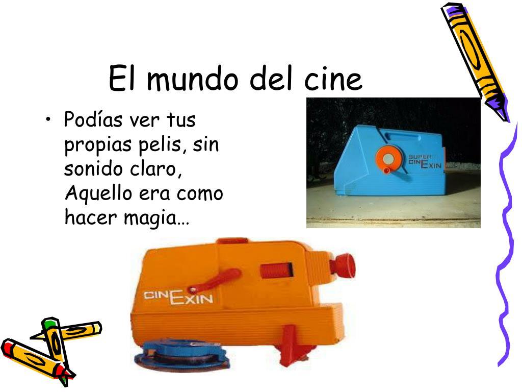 El mundo del cine
