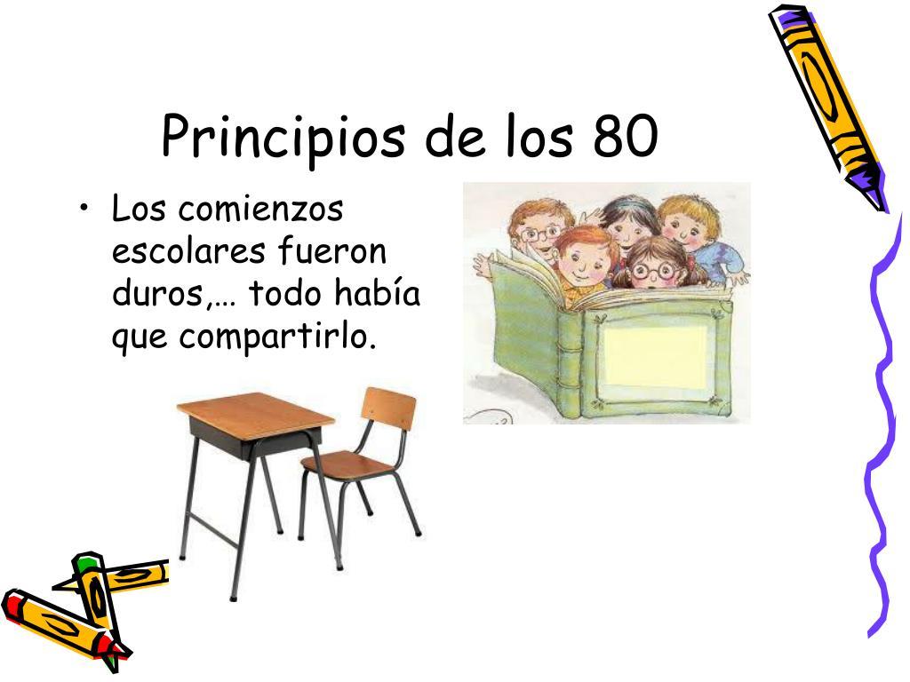 Principios de los 80