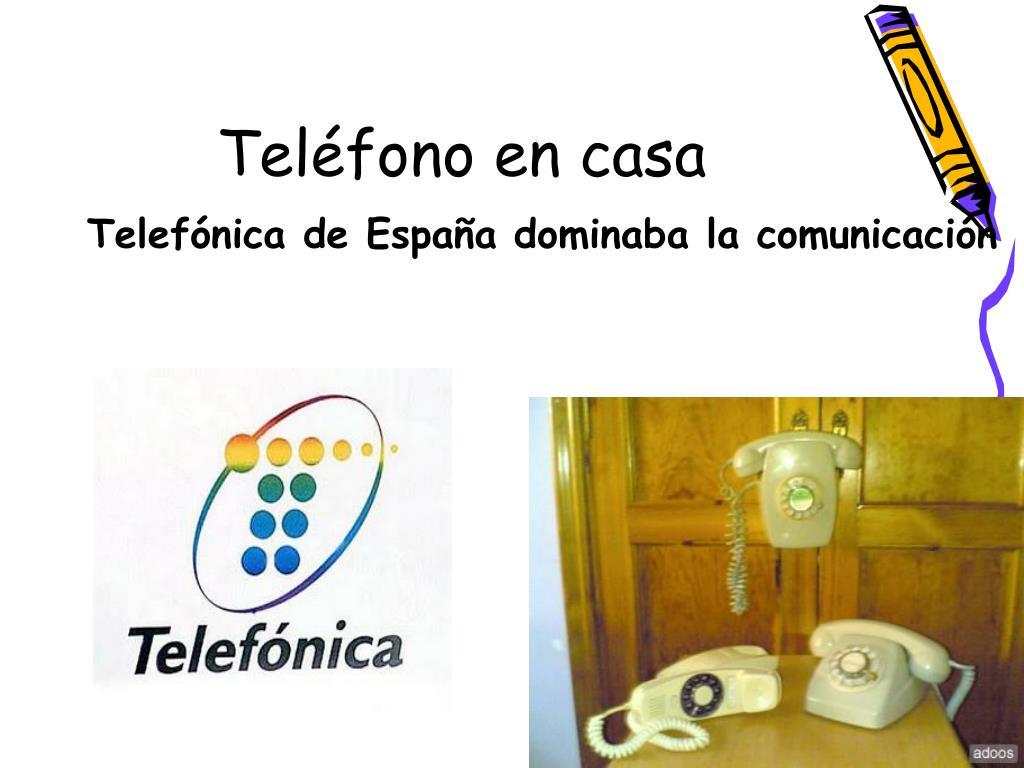 Teléfono en casa