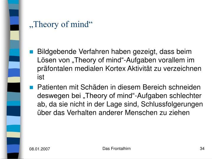 """Theory of mind"""